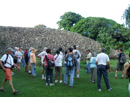 Tour at Ulupo Heiau